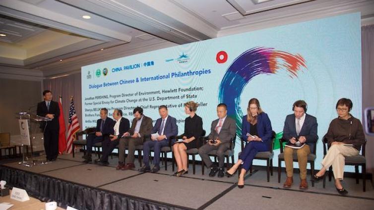 """新闻丨""""气候变化全球行动""""在美启动 中国慈善家代表发布7项倡议"""