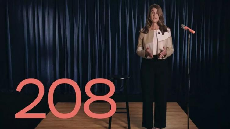 梅琳达·盖茨:我们要为性别平等再等208年?|益周资讯