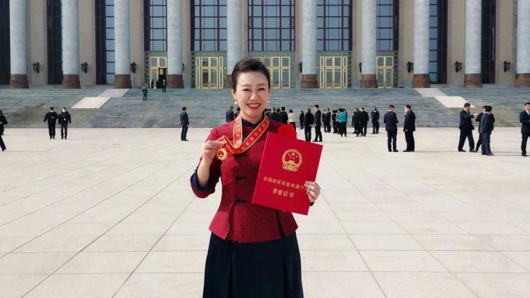 喜报 | EMP学员刘启芳荣膺全国脱贫攻坚先进个人