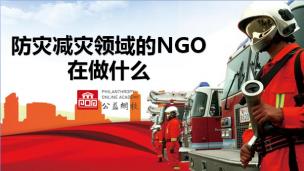 防灾减灾领域的NGO工作