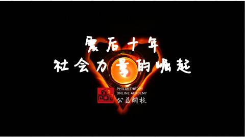 震后十年,中国社会力量的崛起